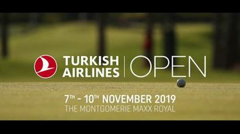 2019 Turkish Airlines Open TV Spot, 'The Montgomerie Maxx Royal' - Thumbnail 10