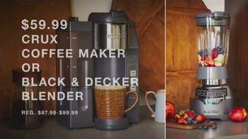 Macy's TV Spot, 'Time to Shop: Memory Foam Pillows, Coffee Maker, Blender & Luggage Set' - Thumbnail 5