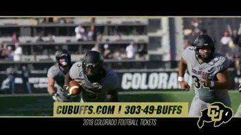 University of Colorado Athletics TV Spot, '2019 Season: Buffs vs. USC Trojans' - Thumbnail 10