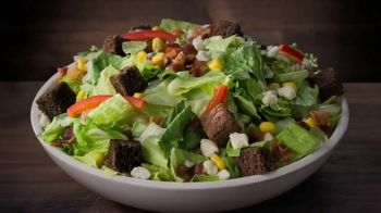 Ruby Tuesday Endless Garden Bar TV Spot, \'Up to 50 Toppings\'