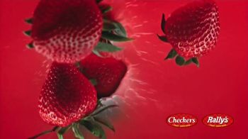 Checkers & Rally's Wicked Strawberry Cones TV Spot, 'Wicked Strawberry Kick' - Thumbnail 6