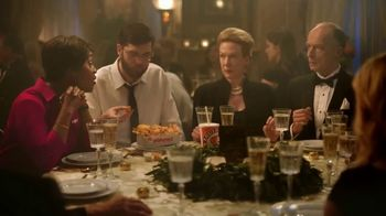 Popeyes $5 Parmesan Ranch Double Dippers TV Spot, 'Fancy Dinner' - Thumbnail 4