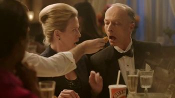 Popeyes $5 Parmesan Ranch Double Dippers TV Spot, 'Fancy Dinner'