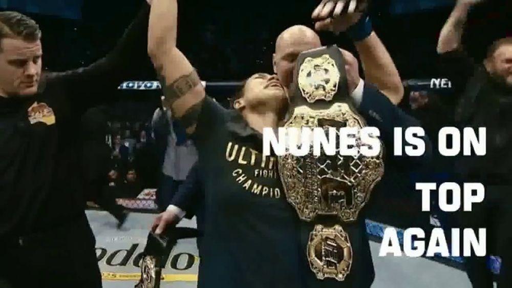 ESPN+ TV Commercial, 'UFC 239: Jones vs. Santos and Nunes vs. Holm'