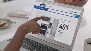 Lowe's July 4th Savings TV Spot, 'Happy Hunting: LG Refrigerator' - Thumbnail 2
