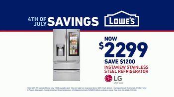 Lowe's July 4th Savings TV Spot, 'Happy Hunting: LG Refrigerator' - Thumbnail 9