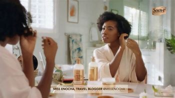 Suave Professionals with Shea Butter & Pure Coconut Oil TV Spot, 'For Amazing Wash & Care' Featuring Temitope Adesina, Charlize Glass - 1953 commercial airings