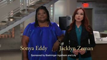 Boehringer Ingelheim TV Spot, 'Take Care of Your Heart' Featuring Sonya Eddy, Jacklyn Zeman - Thumbnail 1