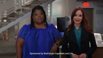 Boehringer Ingelheim TV Spot, 'Take Care of Your Heart' Featuring Sonya Eddy, Jacklyn Zeman - Thumbnail 3