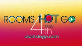 Rooms to Go TV Spot, 'July 4th Hot Buys: Cindy Crawford Home Queen Bedroom' - Thumbnail 7