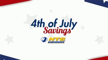National Tire & Battery 4th of July Savings TV Spot, 'Buy Two, Get Two: No Interest'