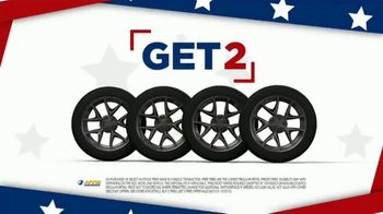 National Tire & Battery 4th of July Savings TV Spot, 'Buy Two, Get Two: No Interest' - Thumbnail 4