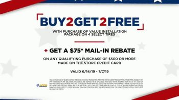 National Tire & Battery 4th of July Savings TV Spot, 'Buy Two, Get Two: No Interest' - Thumbnail 8