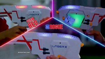 Laser X TV Spot, 'Neighborhood Arena'
