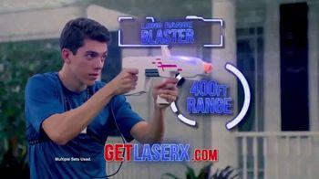 Laser X TV Spot, 'Neighborhood Arena'