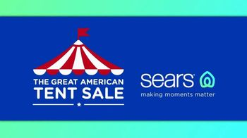Sears Great American Tent Sale TV Spot, \'Summer Fashion: $300 Cashback\'