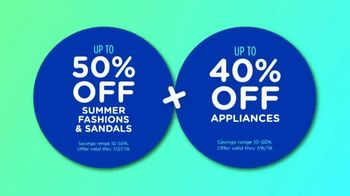 Sears Great American Tent Sale TV Spot, 'Summer Fashion: $300 Cashback' - Thumbnail 7