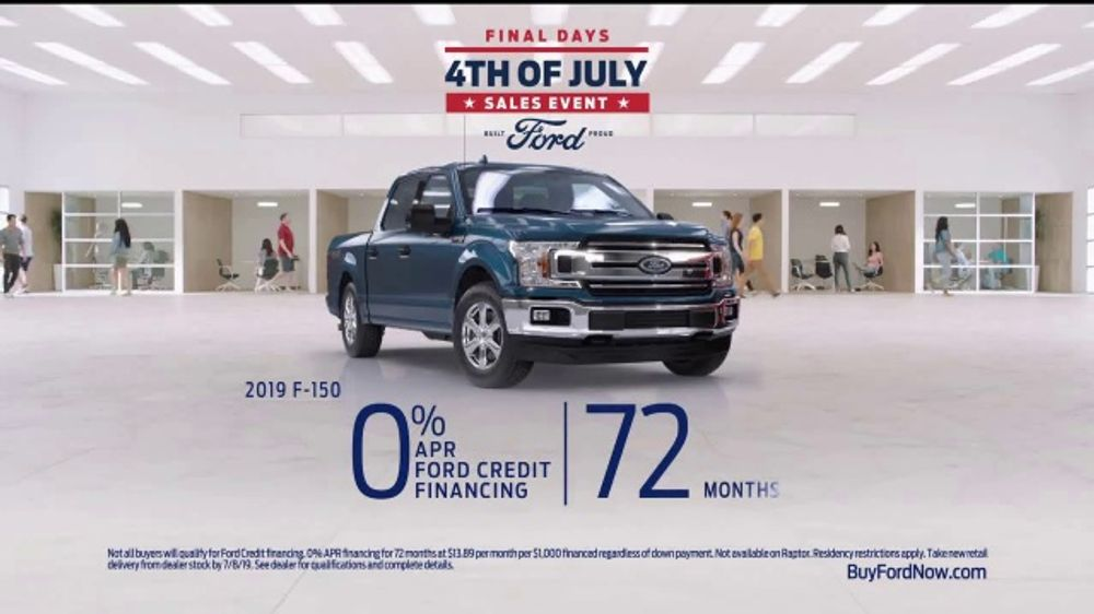 Ford 4th of July Sales Event TV Commercial, 'F-Series ...