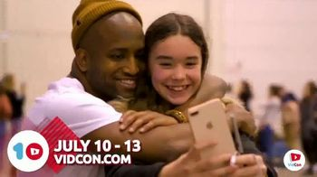 VidCon TV Spot, '10th Birthday' - 69 commercial airings