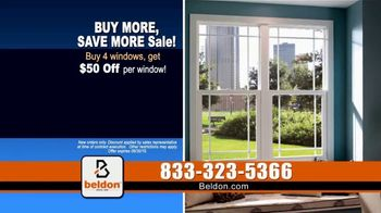 Beldon Windows Buy More, Save More Sale TV Spot, 'Dragging the Ladder Out' - Thumbnail 4