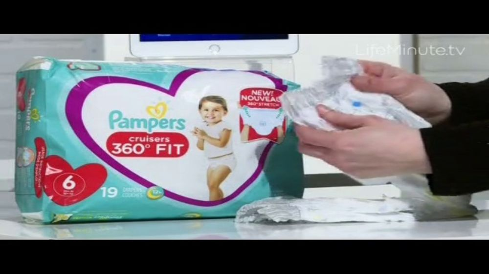 Pampers Cruisers 360 Degree Fit TV Commercial, 'LifeMinute.tv: Diapers Are Everything'