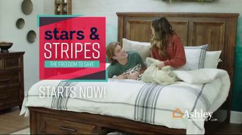 Ashley HomeStore Stars & Stripes Event TV Spot, 'Zero Percent Interest' - Thumbnail 2