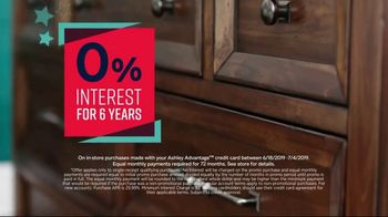 Ashley HomeStore Stars & Stripes Event TV Spot, 'Zero Percent Interest' - Thumbnail 4