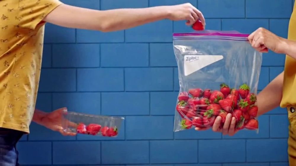 Ziploc Tv Commercial Fresh Strawberries Ispot Tv