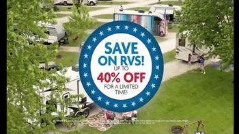 Camping World Celebrate Freedom Savings Event TV Spot, 'Flag' - Thumbnail 8