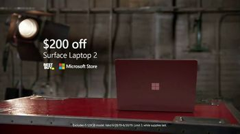 Microsoft Surface TV Spot, Taylor Church: $200 Off' - Thumbnail 10