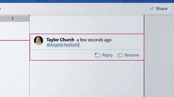 Microsoft Surface TV Spot, Taylor Church: $200 Off' - Thumbnail 6