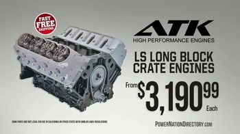 PowerNation Directory TV Spot, 'ATK Engine, Gauge Kits & Supercharger Kit'
