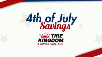 Tire Kingdom 4th of July Super Sale TV Spot, 'Buy Two Get Two' - Thumbnail 8