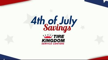 Tire Kingdom 4th of July Super Sale TV Spot, 'Buy Two Get Two'