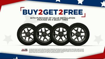 Tire Kingdom 4th of July Super Sale TV Spot, \'Buy Two Get Two\'