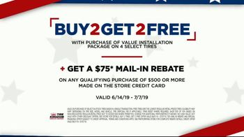 Tire Kingdom 4th of July Super Sale TV Spot, 'Buy Two Get Two' - Thumbnail 7