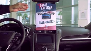 Ford Great American Sales Event TV Spot, 'Espíritu de libertad' [Spanish] [T2] - Thumbnail 5