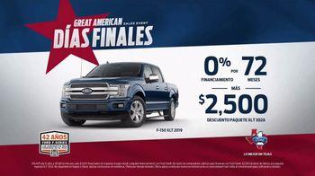 Ford Great American Sales Event TV Spot, 'Espíritu de libertad' [Spanish] [T2] - Thumbnail 7