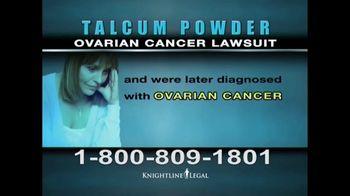 Knightline Legal TV Spot, 'Talcum Powder: Ovarian Cancer' - Thumbnail 4