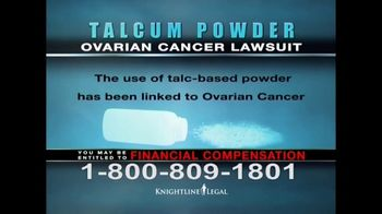 Knightline Legal TV Spot, 'Talcum Powder: Ovarian Cancer' - Thumbnail 5