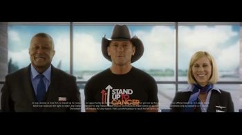 American Airlines TV Spot, 'Add a Name to Our Official Stand Up to Cancer Plane' Ft. Tim McGraw - Thumbnail 6