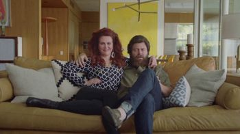 Sling TV Spot, 'Outfits' Featuring Nick Offerman, Megan Mullally - Thumbnail 1