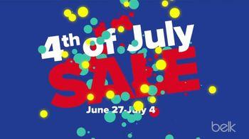 Belk 4th of July Sale TV Spot, 'Swim and Americana Decor'