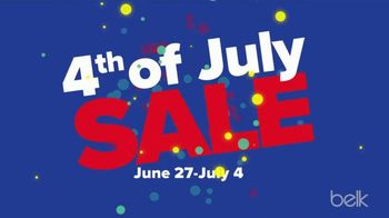 Belk 4th of July Sale TV Spot, 'Women's Fashion and Shorts'