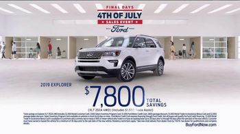 Ford 4th of July Sales Event TV Spot, 'SUV Lineup' [T2] - Thumbnail 7