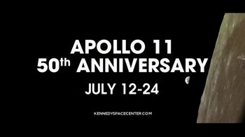 Kennedy Space Center Visitor Complex TV Spot, 'Apollo 11: 50th Anniversary' Song by Peter Nickalls - Thumbnail 8