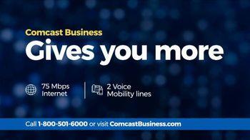 Comcast Business TV Spot, 'Competitor Comparison: 75 Mbps Internet' - Thumbnail 7