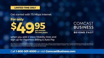 Comcast Business TV Spot, 'Competitor Comparison: 75 Mbps Internet' - Thumbnail 8