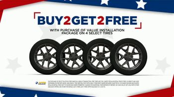National Tire & Battery 4th of July Savings TV Spot, 'Buy Two, Get Two' - Thumbnail 3