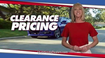 Honda 4th of July Sales Event TV Spot, 'Clearance Pricing' [T2]